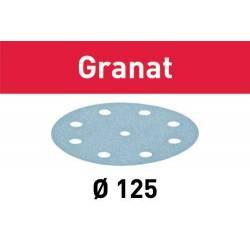 Festool Krążki ścierne STF D125/8 P180 GR/100 Granat 497171