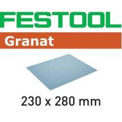 Festool Papier ścierny 230x280 P80 GR/50
