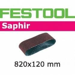 Festool Taśma szlifierska Compact CMB 120 820x120-P180-SA/10