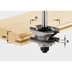 Festool Frez profilowy do wpustów HW z trzpieniem 8 mm HW S8 D46 x D12-NT