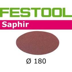 Festool Krążki ścierne STF D180/0 P80 SA/25