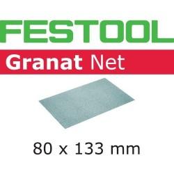 Festool Materiały ścierne z włókniny STF 80x133 P80 GR NET/50
