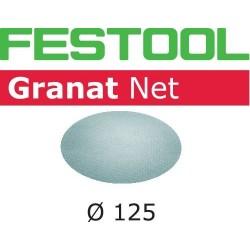 Festool Materiały ścierne z włókniny STF D125 P80 GR NET/50