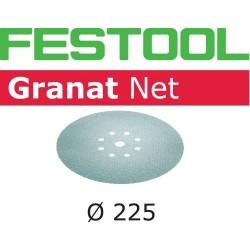 Festool Materiały ścierne z włókniny STF D225 P240 GR NET/50