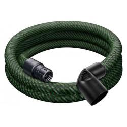 Festool Wąż ssący D 27 antystatyczny, gładki D 27x3,0m-AS-90°/CT