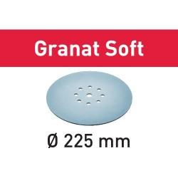 Festool Krążki ścierne STF D225 P100 GR S/25 Granat Soft