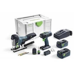 Festool Zestaw montażowy T 18+3/PSC 420 Li I-Set (201404)