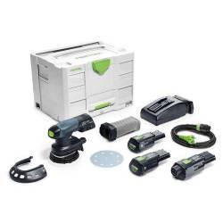 Festool Akumulatorowa szlifierka mimośrodowa ETSC 125 Li 3,1 I-Set (201527)