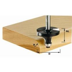 Festool Frez do zaokrągleń HW z trzpieniem 8 mm HW S8 D207/R4 KL