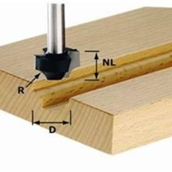Festool Frez ćwierćwałkowy HW z trzpieniem 8 mm HW S8 D17/R3