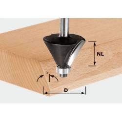Festool Frez do fazowania HW z trzpieniem 8 mm HW S8 D257/257/15