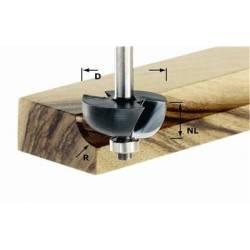 Festool Frez do wgłębień półokrągłych HW z trzpieniem 8 mm HW S8 D317/R95 KL
