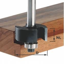 Festool Frez do wręgów HW z trzpieniem 8 mm HW S8 D317/NL 127