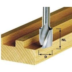 Festool Frez spiralny do wpustów HS z trzpieniem 8 mm HS Spi S8 D6/16