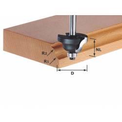 Festool Frez dwupromieniowy HW z trzpieniem 8 mm HW S8 D317/R4/R4