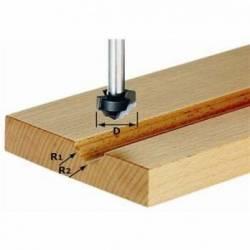 Festool Frez profilowy HW z trzpieniem 8 mm HW S8 D19/R5/R4