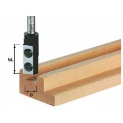 Festool Frez z płytkami do wpustów HW 8 mm HW S8 D10/25 WP Z1