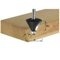 Festool Frez do fazowania HW z trzpieniem 12 mm HW S12 D55/20/45