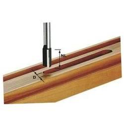 Festool Frez do wpustów HW z trzpieniem 12 mm HW S12 D22/45