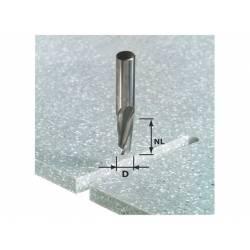 Festool Frez spiralny do wpustów HW z trzpieniem 12 mm HW Spi D12/42 RD ss S12
