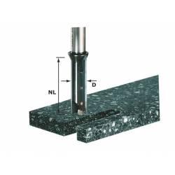 Festool Frez z płytkami do wpustów HW z trzpieniem 12 mm HW S12 D14/45 WM