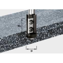 Festool Frez z płytkami do wyrównywania HW z trzpieniem 12 mm HW S12 D21/30WM