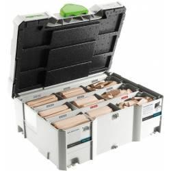Festool Asortyment łączników DOMINO XL buk DS/XL D8/D10 306x BU
