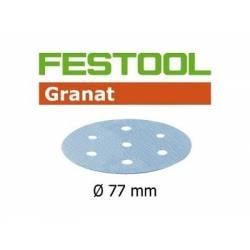 Festool Krążki ścierne STF D77/6 P80 GR/50