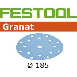 Festool Krążki ścierne STF D185/16 P80 GR/50