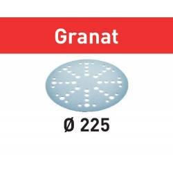 Festool Krążki ścierne STF D225/128 P120 GR/5 Granat 205666